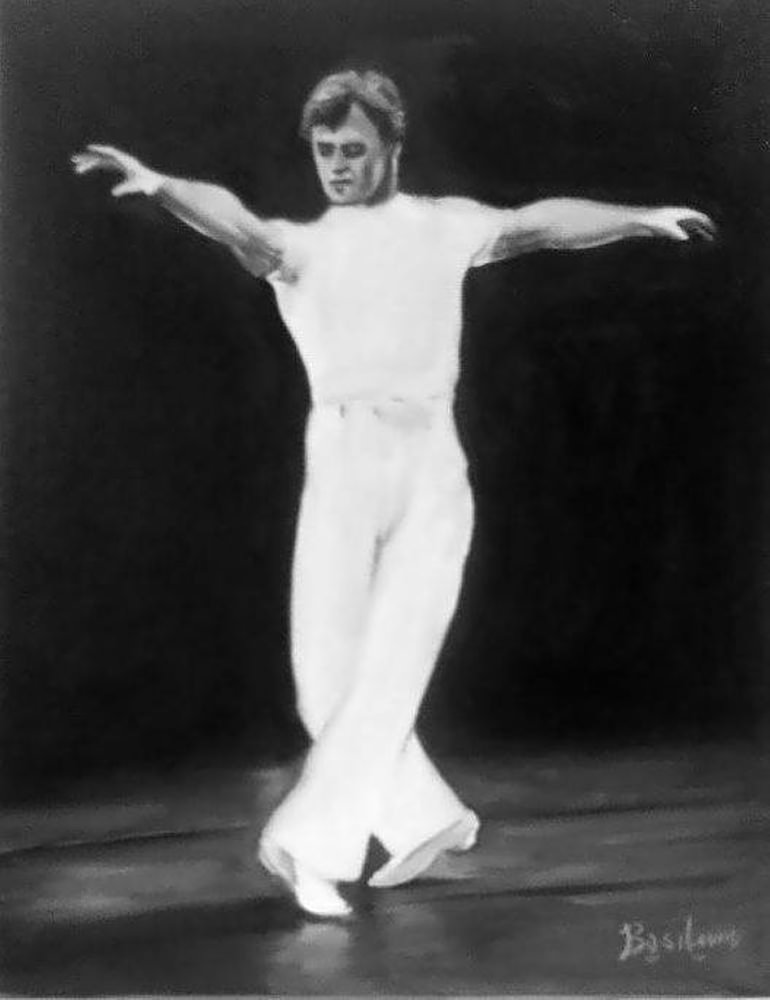 Baryshnikov - Oil on Canvas