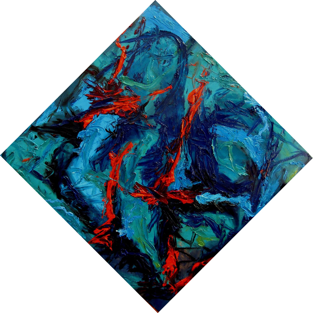 Free Fall  Year: 2011 Size: 80x80